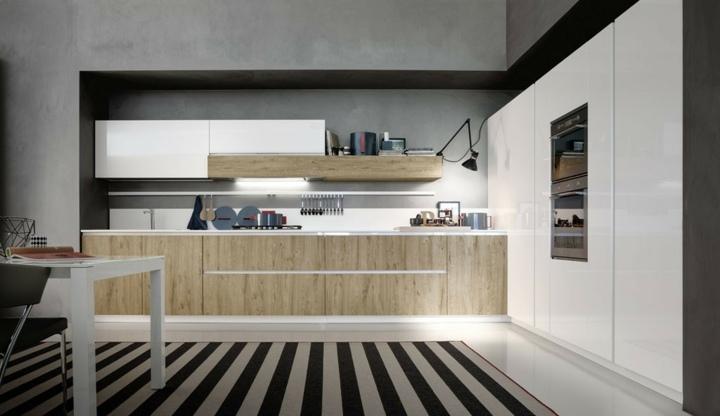 muebles estantes soluciones diseños blanco