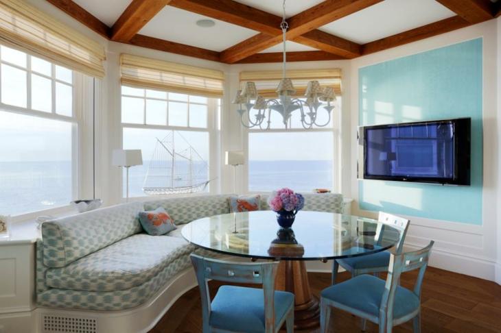muebles maderas azules salones comedores cristales
