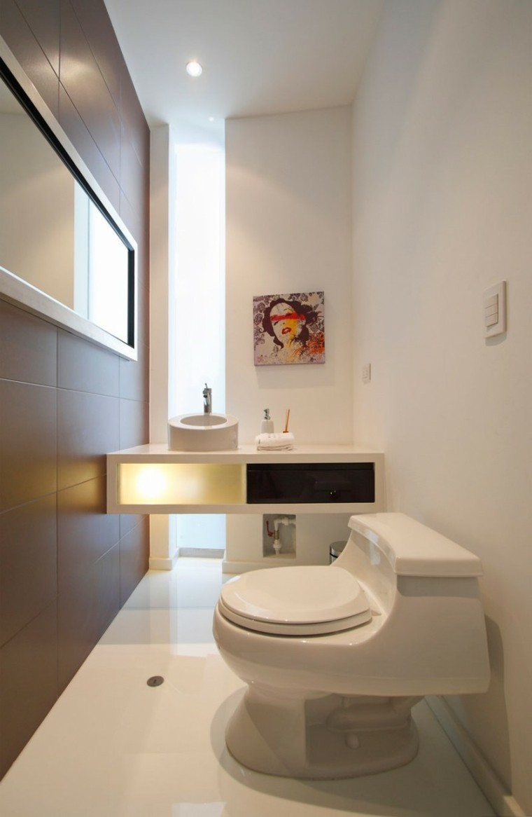muebles modernos aseo pequeño deco