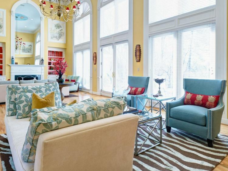 muebles modernos motivos colores viovos