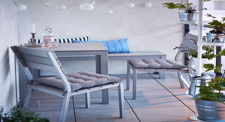 Mobiliario terraza ikea muebles para espacios reducidos for Mobiliario de terraza