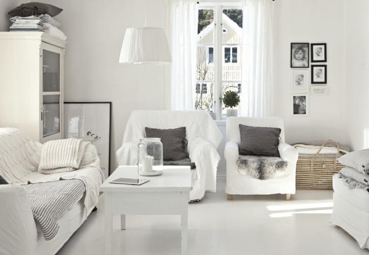 Decoración de salones modernos - muebles y accesorios -