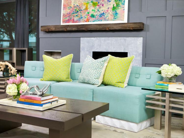 muebles salon diseño moderno