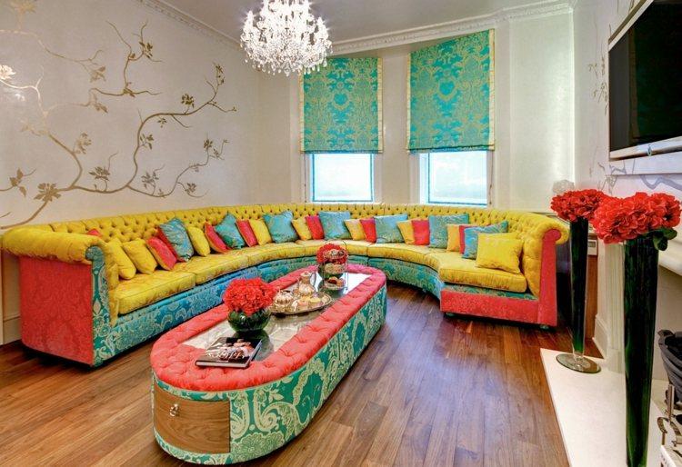 muebles sofa original colores diseño