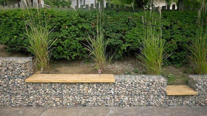 muros ideas elementos maderas hirbas plantas