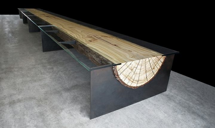 naturaleza mobiliario cristales puertas pendientes tronco