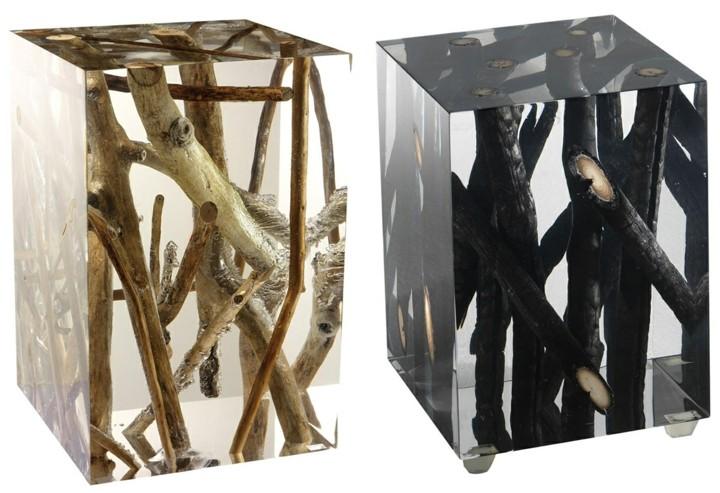 naturaleza mobiliario principios acrilico detalles