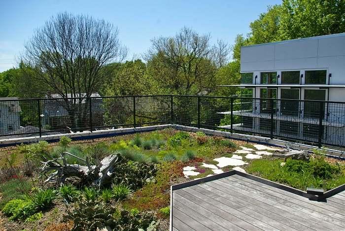 terrazas con jardin zonas verdes
