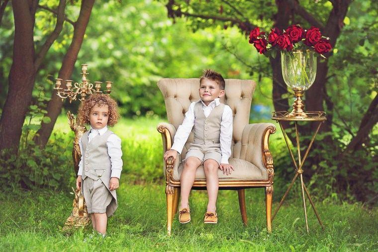 niños elegantes ropa pequenos chicos modernos ideas