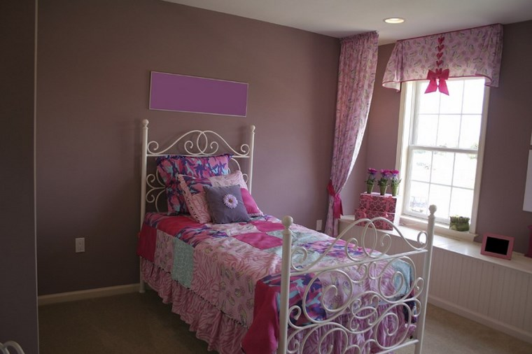 opciones decoracion habitacion nina cama acero blanco ideas