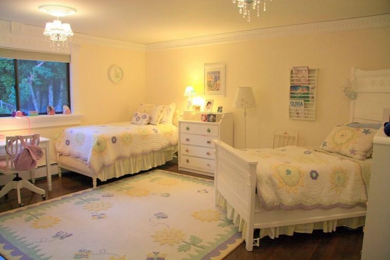 Decorar habitacion ni a 102 ideas para chicas ya mayores - Habitaciones para dos ninas ...