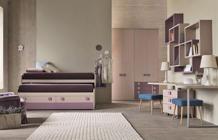 opciones decoracion habitacion nina camas originales ideas