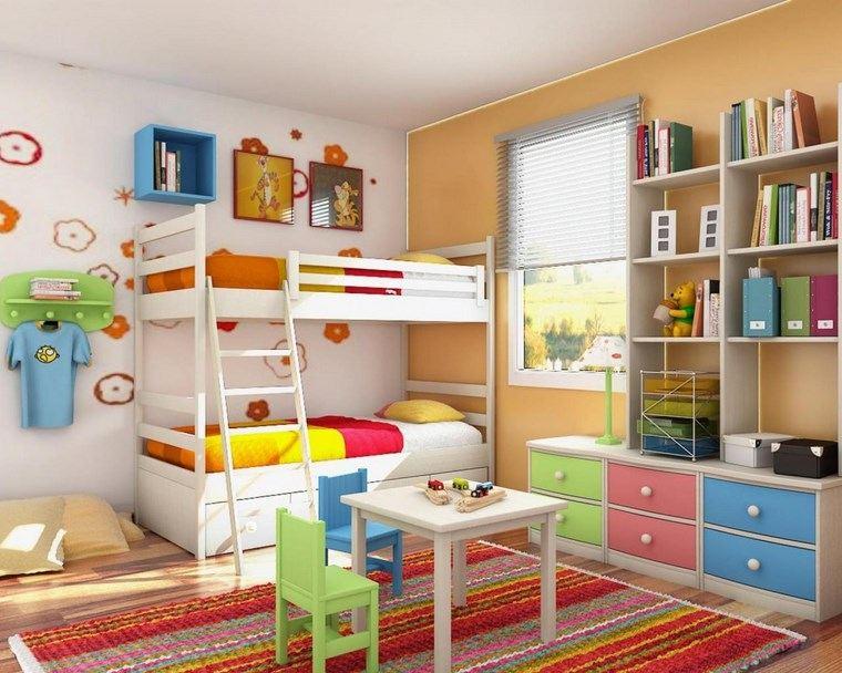 opciones decoracion habitacion nina coloridas ideas