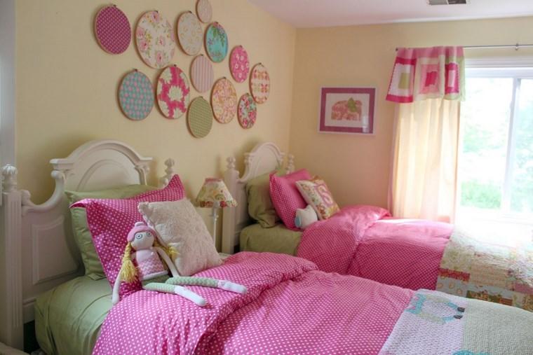 opciones decoracion habitacion nina detalles pared ideas