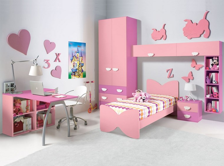 Decorar habitacion ni a 102 ideas para chicas ya mayores for Habitaciones infantiles de nina