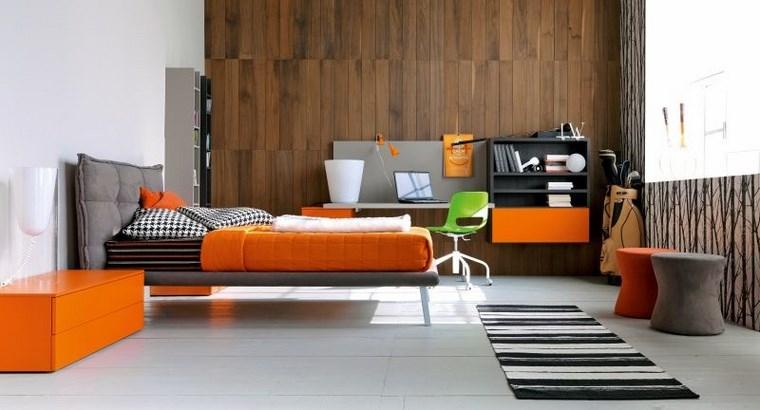 opciones decoracion habitacion nina pared madera ideas