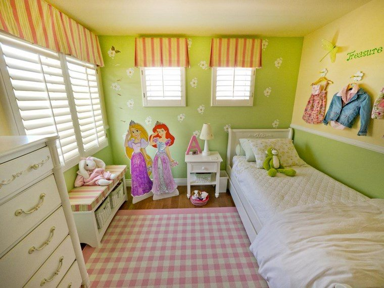 Decorar habitacion ni a 102 ideas para chicas ya mayores for 4 yr old bedroom ideas