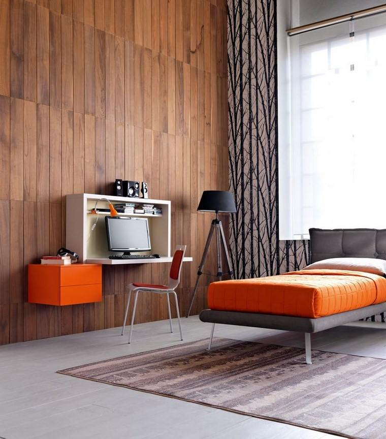 opciones decoracion habitacion nina perzonalizada pared madera ideas