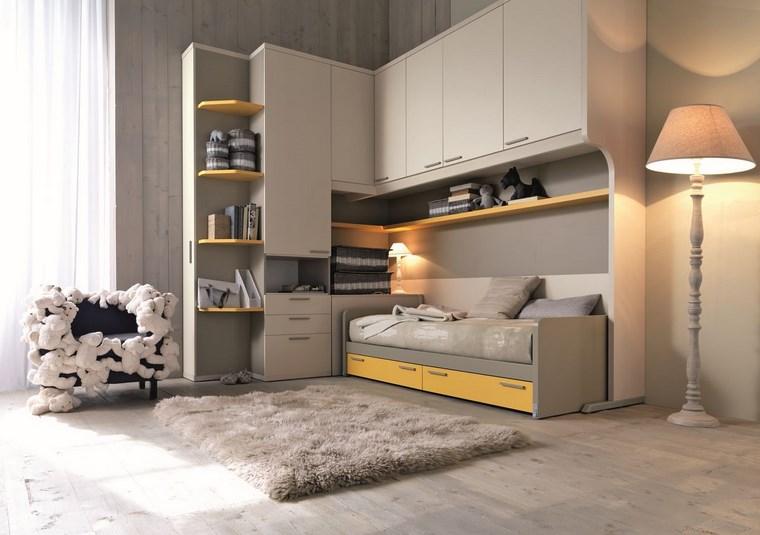 opciones decoracion habitacion nina silla peluches ideas