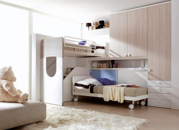 opciones decoracion habitacion nina muebles madera ideas