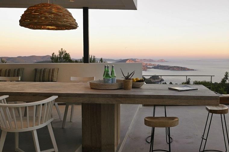 opciones jardin originales vistas muebles madera ideas