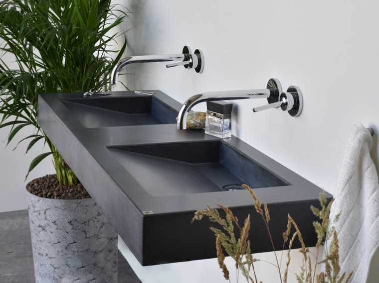 Lavabos modernos 50 opciones de dise o - Fotos lavabos modernos ...