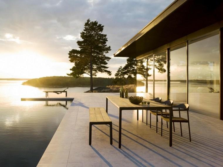 opciones muebles jardin originales casa terraza ideas