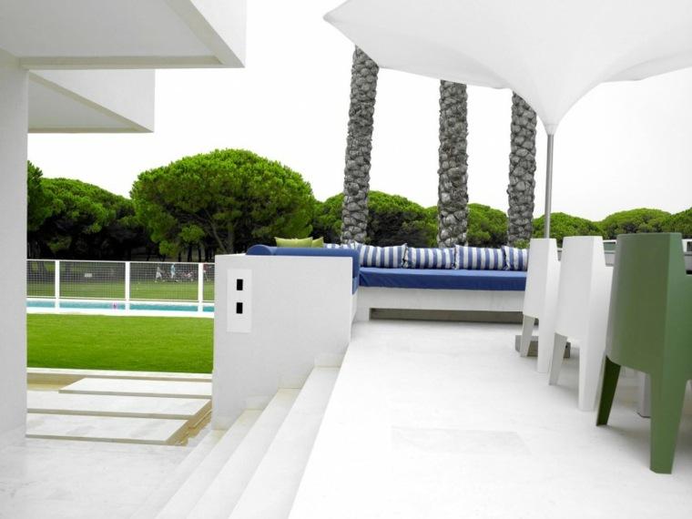 opciones muebles jardin originales casas privadas ideas