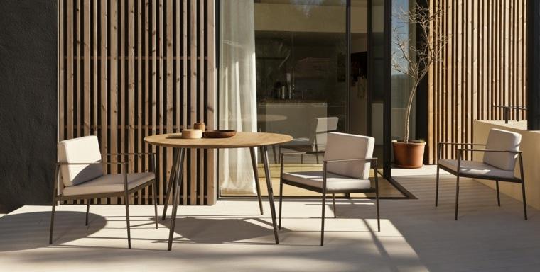 opciones muebles jardin originales color beige ideas