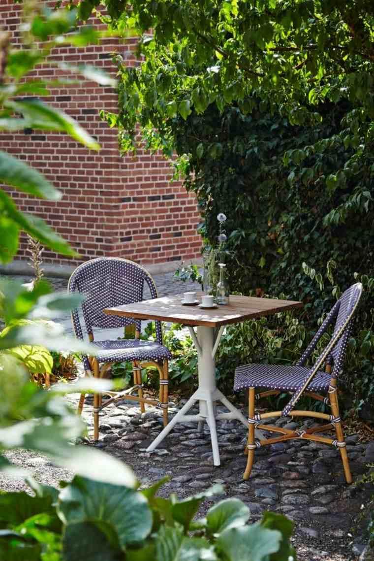 opciones muebles jardin originales comidas romanticas ideas