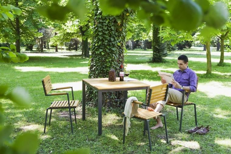 opciones muebles jardin originales descanso tranquilidad ideas