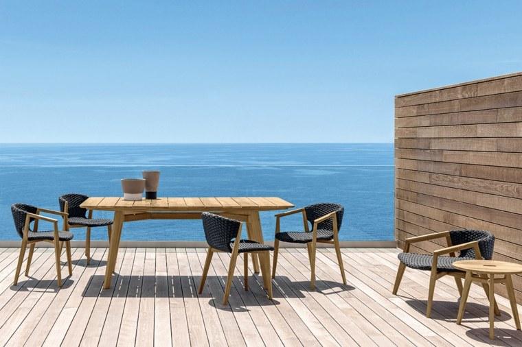 opciones muebles jardin originales diseno simple ideas