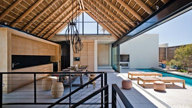 opciones muebles jardin originales piscina tumbonas ideas
