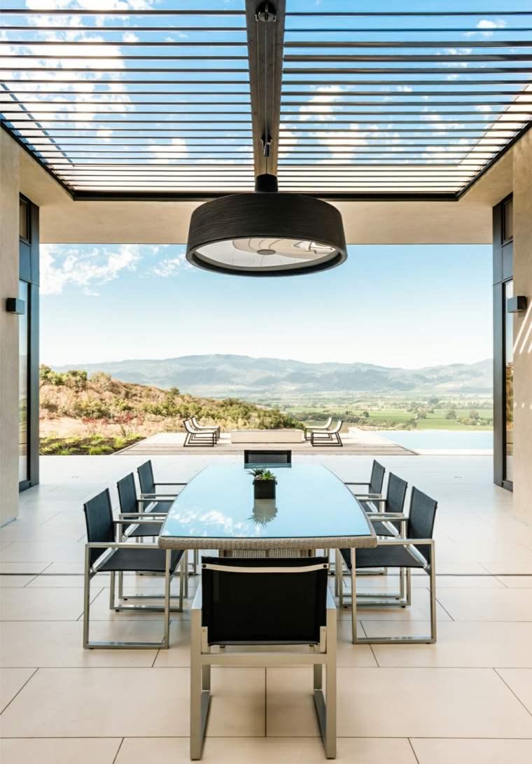 opciones muebles jardin originales protegidos pergola ideas