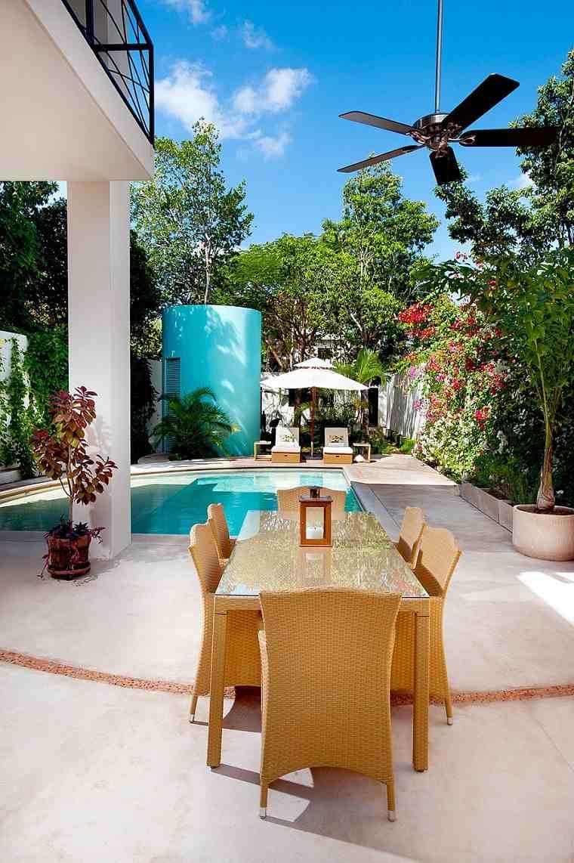 opciones muebles jardin originales residencia mexico ideas