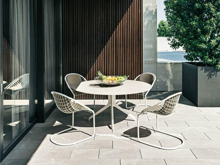 opciones muebles jardin originales sillas preciosas ideas