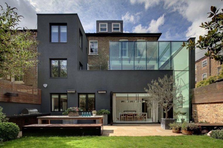 opciones muebles originales casa jardin amplio cesped ideas