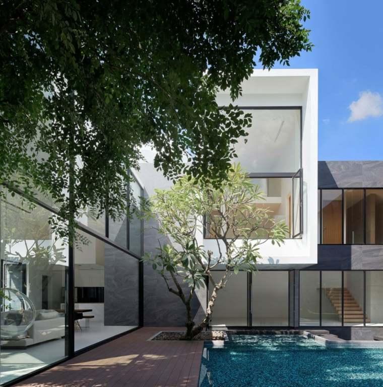 opciones originales diseno casa moderna ideas