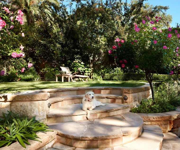 Paisajes hermosos 50 ideas de jardines grandes y peque os for Jardines pequenos originales