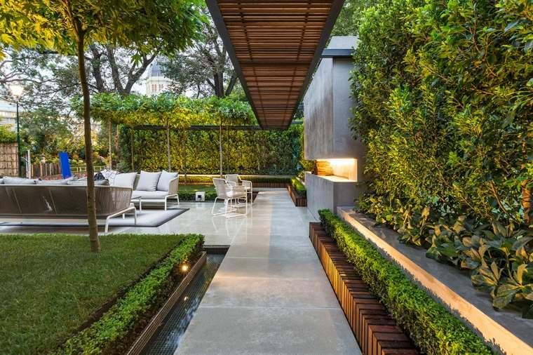 opciones originales diseno jardin distintos espacios descanso ideas