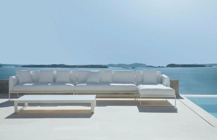 opciones patio muebles modernos diseno ideas
