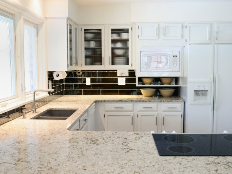 Encimeras de cocina de materiales innovadores 50 modelos - Encimeras modernas ...
