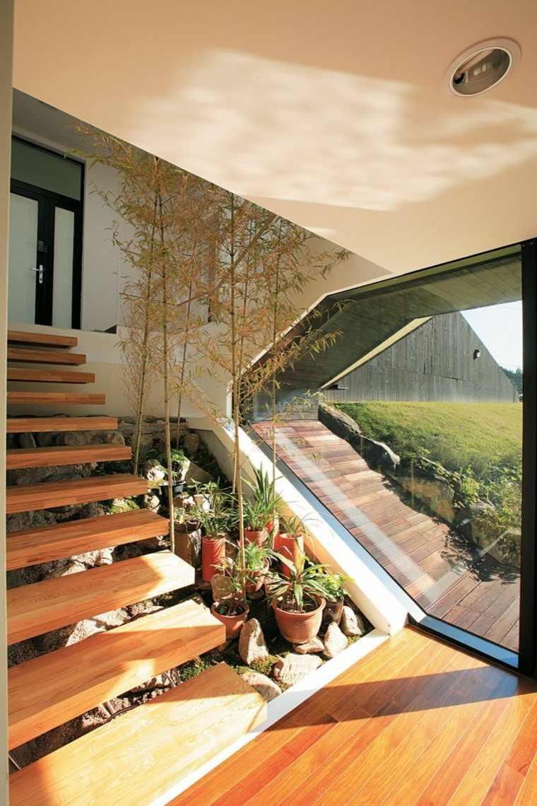 original architecture interior design wood