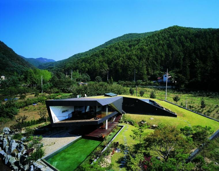 original arquitectura diseño moderno campo