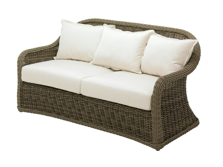 original banco sofa mimbre