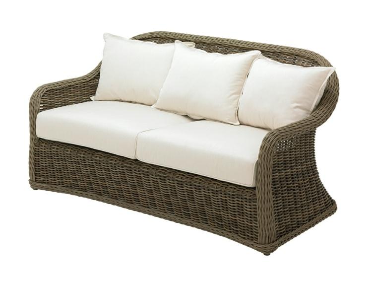 Sofas jardin los 50 mejores modelos de esta temporada for Sofa mimbre terraza