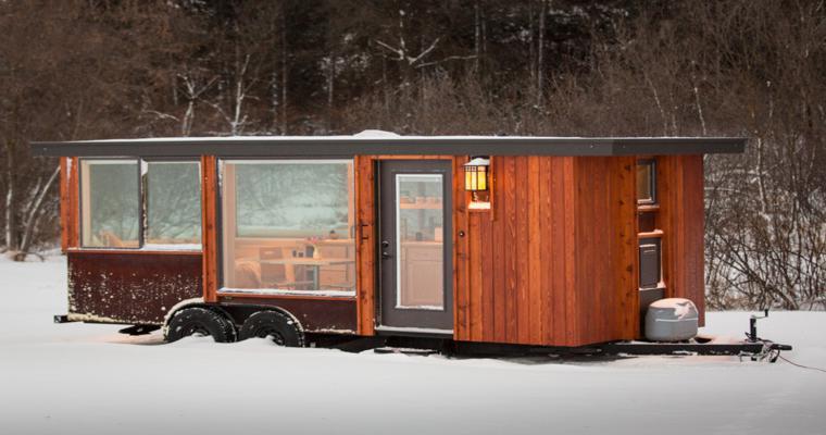 diseño exterior madera corten