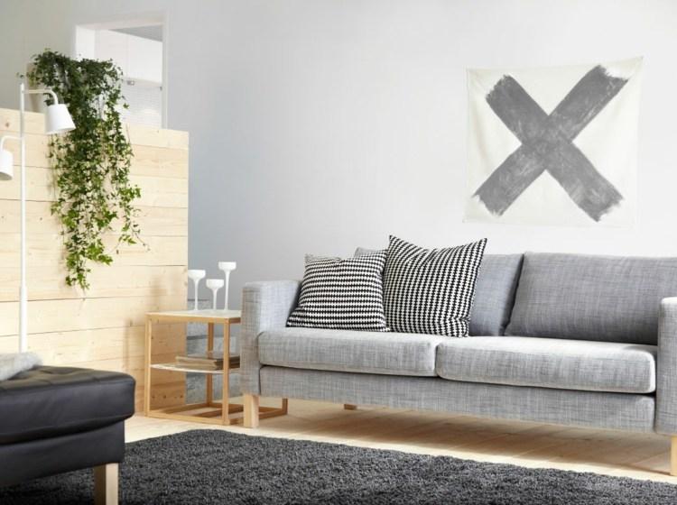 Salon gris y blanco la tendencia de esta temporada for Decoracion de salas en gris