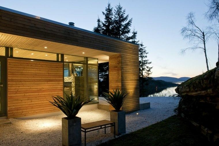 Porches jardin y terrazas cubiertas 50 dise os Disenos modernos con elementos de madera