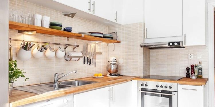 original cocina diseño pequeña